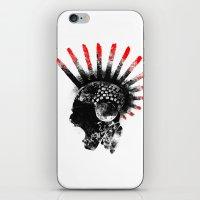 cyberpunk iPhone & iPod Skins featuring cyberpunk by rope