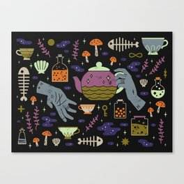 Spooky Horoscopes: Pisces Canvas Print