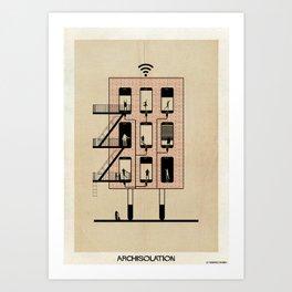 archisolation_17-01 Art Print