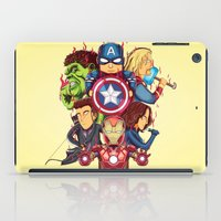 avenger iPad Cases featuring The Avenger by rendhy wahyu