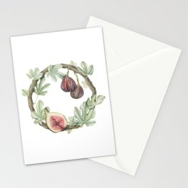 Fig Wreath Stationery Cards