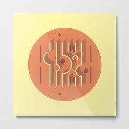 Sonsbeek Pavilion - Aldo Van Eyck Metal Print