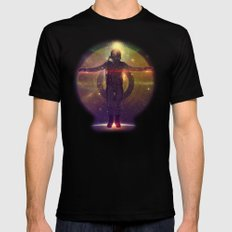 Space Oddity Mens Fitted Tee Black SMALL
