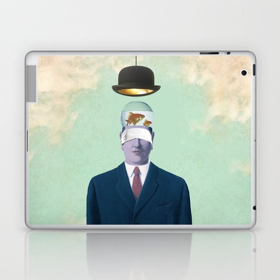 Under the Bowler Laptop & iPad Skin