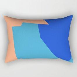 Minimalism Abstract Colors #3 Rectangular Pillow