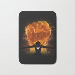 Fire Fist Bath Mat
