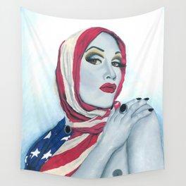 American Ladyboy Wall Tapestry