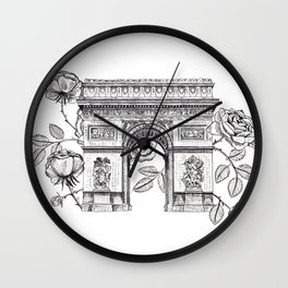 Arc de Triomphe Wall Clock