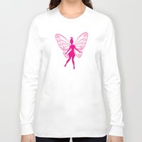 fairy Long Sleeve T-shirts featuring fairy by Li-Bro