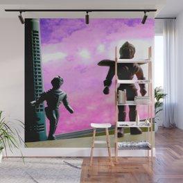 Beyond your world's sun Wall Mural