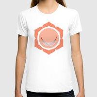 chakra T-shirts featuring Sacral Chakra by Iron Elefante