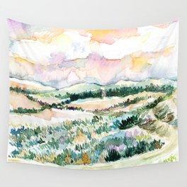 Dusk Hills 1 Wall Tapestry