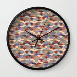 Retro Orchard Wall Clock