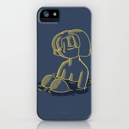 Lone personality iPhone Case