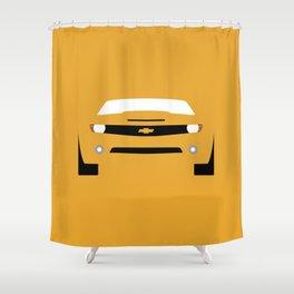 Chevrolet Camaro ( 2006 ) Shower Curtain