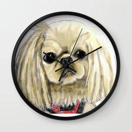 Cartoon dogs Li Li the Pekingese Wall Clock