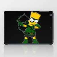 green arrow iPad Cases featuring Arrow by Betmac