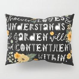 Garden Whispers Pillow Sham
