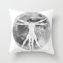 Live Evolve Throw Pillow