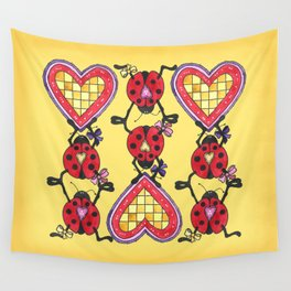 Love Bugs Wall Tapestry