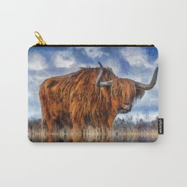Meadow Bull Carry-All Pouch