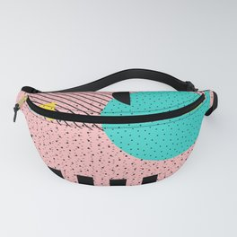 Hello Memphis Peach Berry Fanny Pack