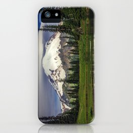 Mt Rainier in Washington iPhone Case