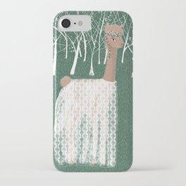 Alpaca the diva iPhone Case