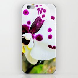Spotted Orchids II iPhone Skin