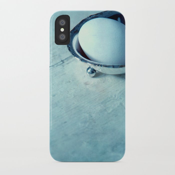 white egg iPhone Case