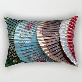 Asian fans Rectangular Pillow