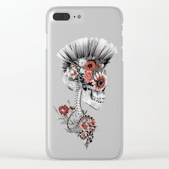 Momento Mori Clear iPhone Case