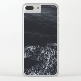 sea water Clear iPhone Case