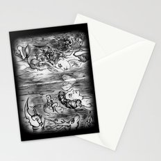 Power Animals Stationery Cards