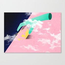 Brazil - A casa caiu Canvas Print