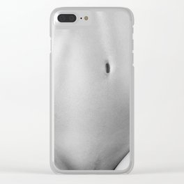 Bodyscape. Naked woman Clear iPhone Case