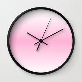 Rose Quartz Horizon Wall Clock