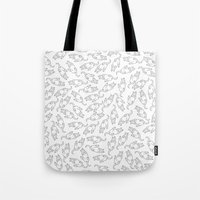 eat Tote Bags featuring Eat! by anetambiel