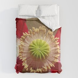 Danish Flag Poppy Comforters