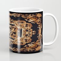 givenchy Mugs featuring Fancy Givenchy by Goldflakes