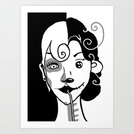 The Alpha Female Art Print