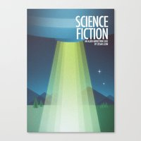 sci fi Canvas Prints featuring Sci-Fi by Arttt