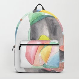 Life and Meaning 2| Abstract Watercolors Backpack