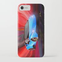 lamborghini iPhone & iPod Cases featuring Lamborghini Huracán by JT Digital Art