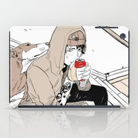doberman iPad Cases featuring Monsieur Doberman by Cassandra Jean