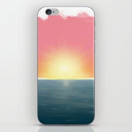 Peaceful Current iPhone Skin