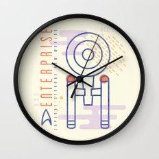 MNML: NCC-1701 Wall Clock
