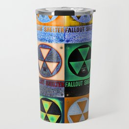 Fallout Shelter Mosaic Travel Mug