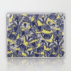 butterfly yellow Laptop & iPad Skin