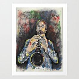 Jazz Clarinet 1 Art Print